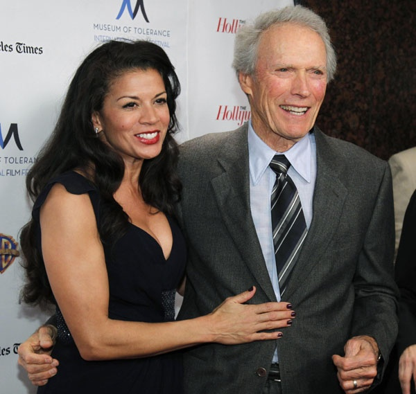 Image Detail For -Director Clint Eastwood (R) And His Wife