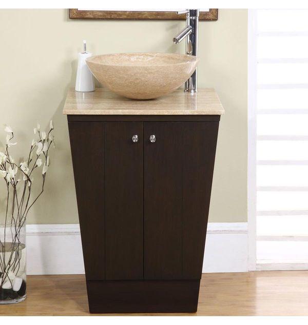 Silkroad Exclusive Hyp 0155 T 22 22 In Bathroom Vanity With