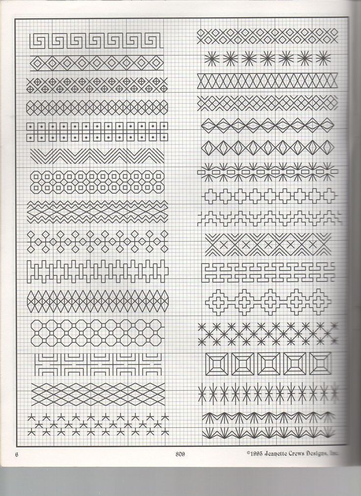 Blackwork Borders