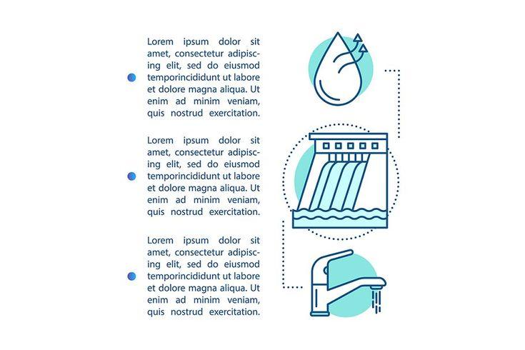 Water resource management brochure in 2020 | Brochure ...