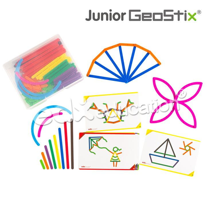 Junior GeoStix #edxeducation #handson #earlyyears #learnbyplay #learningisfun
