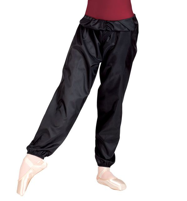 "Discount Dance Supply ""trash bag"" pants. Want these for when I'm warming up"