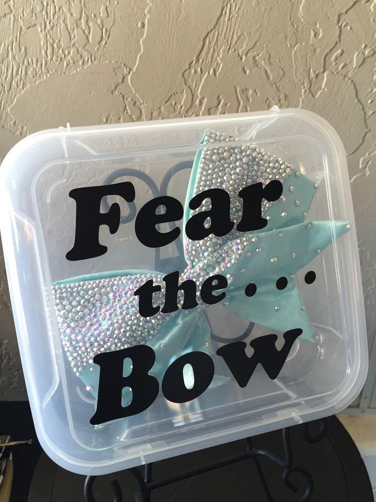 Bow Box Cheer Bow Box Dance Bow Box