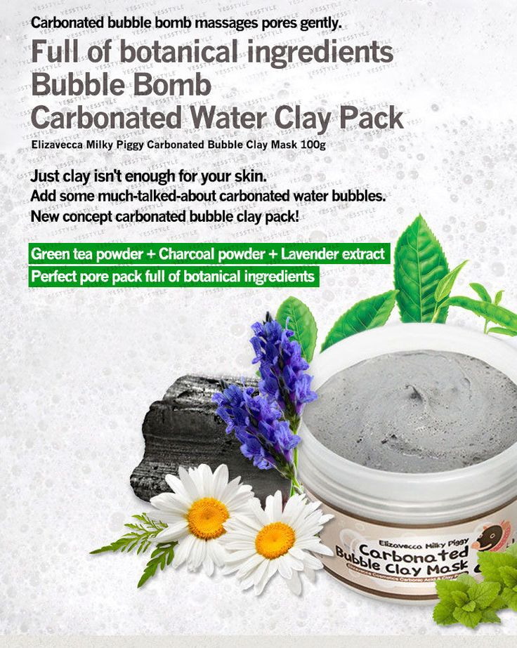 Buy Elizavecca Milky Piggy Carbonated Bubble Clay Mask 100ml | YesStyle