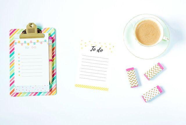 to do list, free printables, listy zadań, do druku