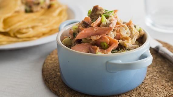 Начинка для блинчиков с рыбой. Пошаговый рецепт с фото на Gastronom.ru