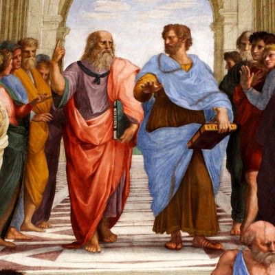 Plato founded school named Academy. What was the name of the school founded by Aristotle? Lyceum.