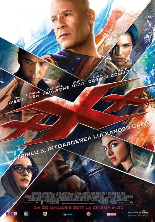 Triplu X: Intoarcerea lui Xander Cage 3D - Cinema OneCinema One