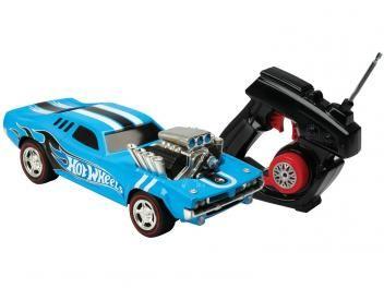 Carrinho de Controle Remoto Hot Wheels - Rodger Dodger 7 Funções Alcance até 20m - Candide