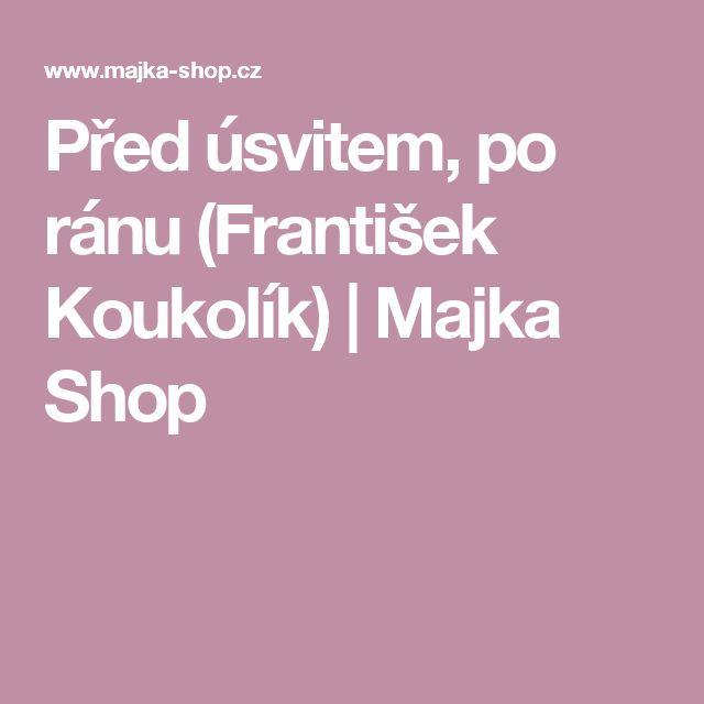 Před úsvitem, po ránu (František Koukolík) | Majka Shop