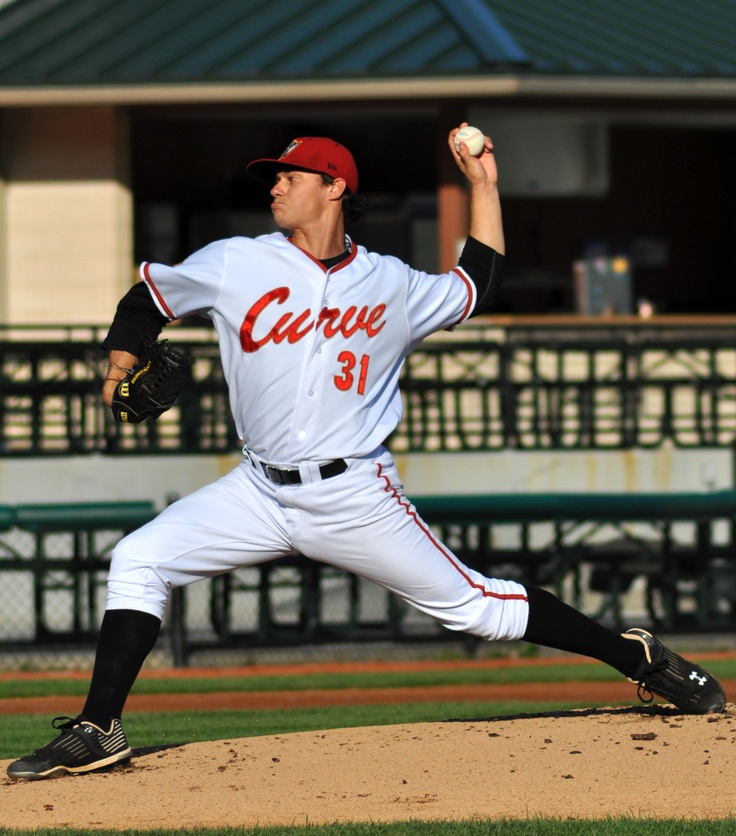 Jeff Locke - Altoona Curve 2010-11 made his debut with the Pittsburgh Pirates in 2011