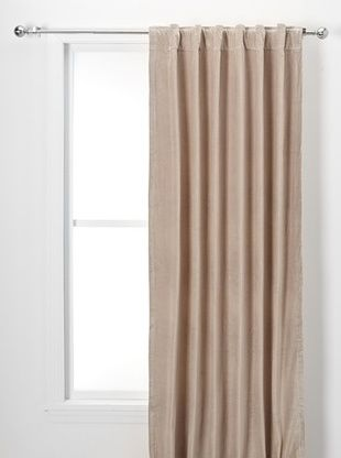 60% OFF Valencia Cotton Velvet Panel (Oatmeal)