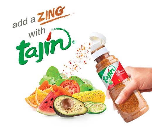 Looking for something new to boost the taste of your recipes? Try Tajín seasoning and add a ZING to your family's meals and favorite snacks.