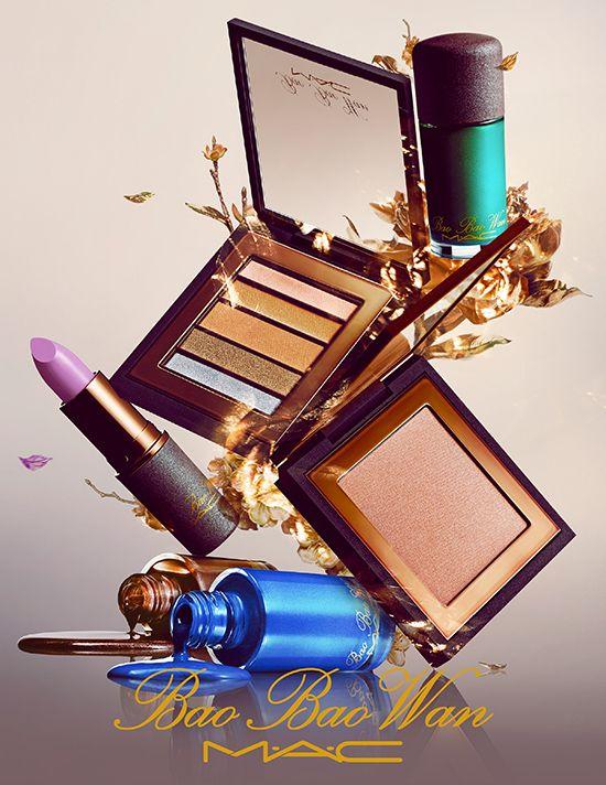 MAC Bao Bao Wan collectie zeer de moeite waard. Denk aan warme gouden metalic kleuren. Ogen die bedekt zijn met mooie brons tinten. Een huid die glimt als diamanten, lippen die glinsteren als de mooiste robijnen en nagellak waarbij zelfs de meest kostbaarste juwelen hun glans verliezen.