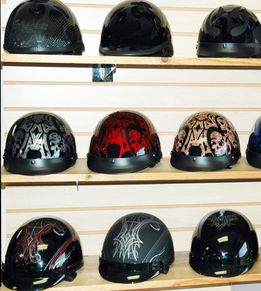 Since motorcycle accidents are increasing the importance of helmets are being felt every day. When you wear novelty helmets motorcycle you are reducing the risks of head injury to a great extent.