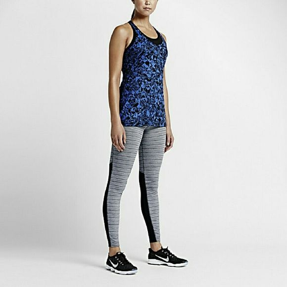 NWT NIKE DRI FIT SEE THROUGH LEGGINGS! These are awesome! I own a pair and I love the hold, the design and especially the see through! Nike Pants Leggings
