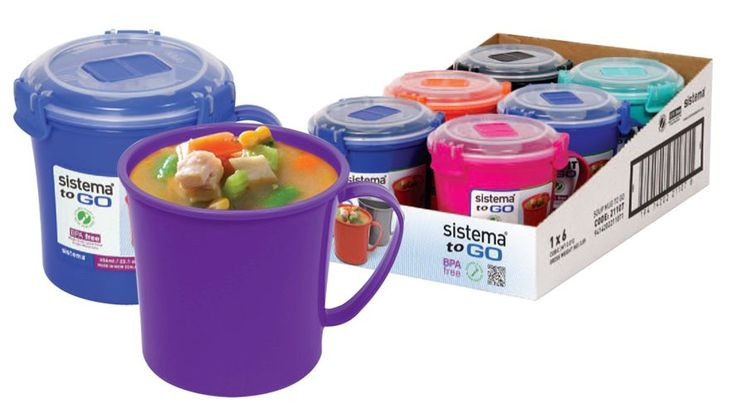 As the weather gets cooler, you'll be needing some of these soup-on-the-go containers for lunchtime snacks. #back2campus #searsback2campus #convenience #containers
