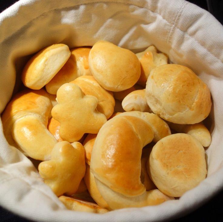 Nemt og festligt suppebrød. Dette nemme og lækre suppebrød er både festligt og velsmagende tilbehør til en alle supper. Børnene kan få lov til at være med til at forme sjove figurer.