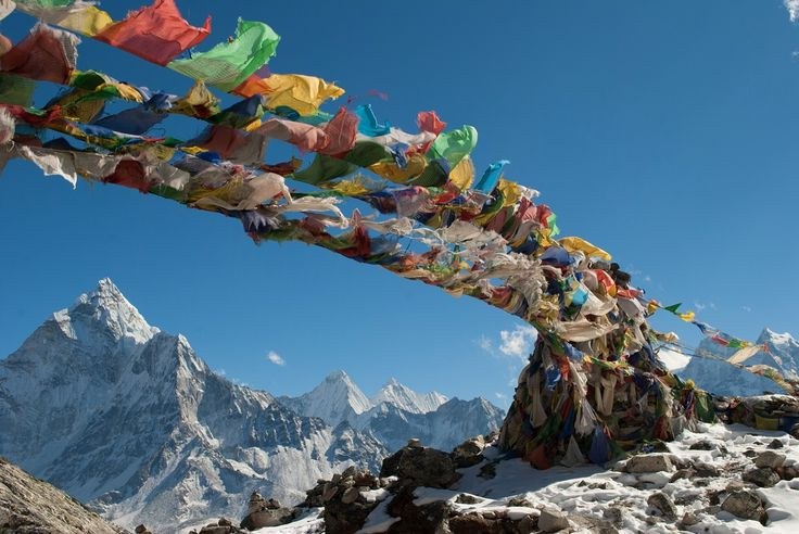 Wedged between the high Himalaya and the steamy Indian plains, Nepal is a land of snow peaks and Sherpas, yaks and yetis, monasteries and mantras.