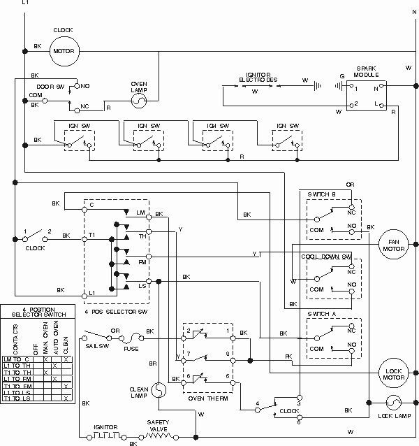 24 Wiring Diagram For Electric Stove Electric Stove Stove Oven