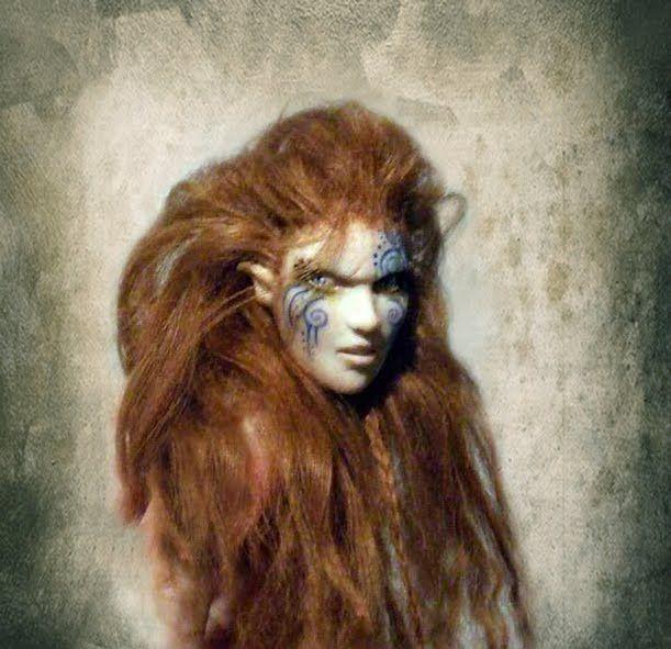 Celtic War Body Paint