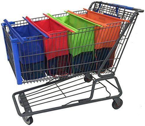 Shopping Cart Trolley Bags - 4 Reusable Grocery Bags - Easy to Use and Heavy Duty - Variety of Colors and Sizes, http://www.amazon.com/dp/B01EKM2RQ8/ref=cm_sw_r_pi_n_awdm_6GyBxbRN1284K
