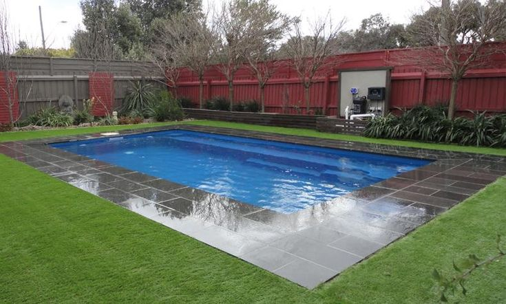 Reflection style fiberglass inground pool luxury pools - Prices of inground swimming pools ...
