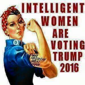 Donald Trump's strong message speaks to the millions of American women who are fed up with loser politicians who won't stand up for our freedom or the USA! ~ https://womenfordonaldtrump.com/ ~ Vote Trump 2016 ~ RADICAL Rational Americans Defending Individual Choice And Liberty
