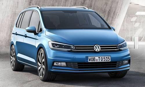 #Volkswagen #Touran. La monovolume compatta dal design lineare adatto alle famiglie numerose grazie al suo abitacolo da 7 posti.