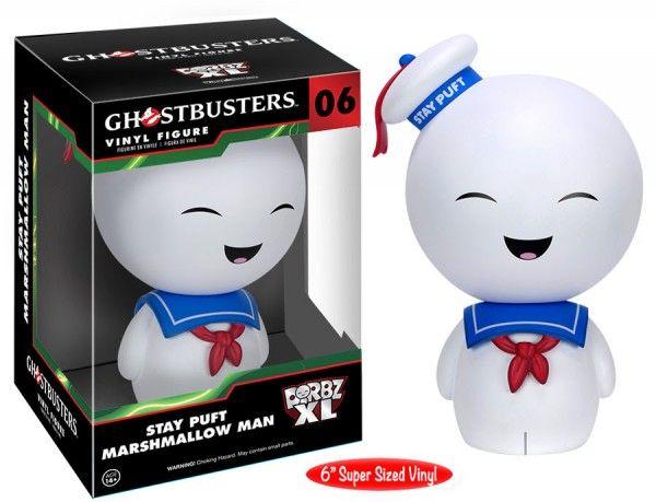 #transformer ko dorbz xl ghostbusters: stay puft marshmallow man 6'' oversize vinyl [figure] by funko