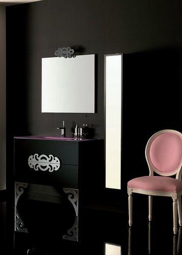 Мебель для ванных комнат Eurolegno Серия Glamour Мебель для ванной комнаты Eurolegno Glamour Композиция 3. Эко-Душ - Европейская сантехника оптом и в розницу