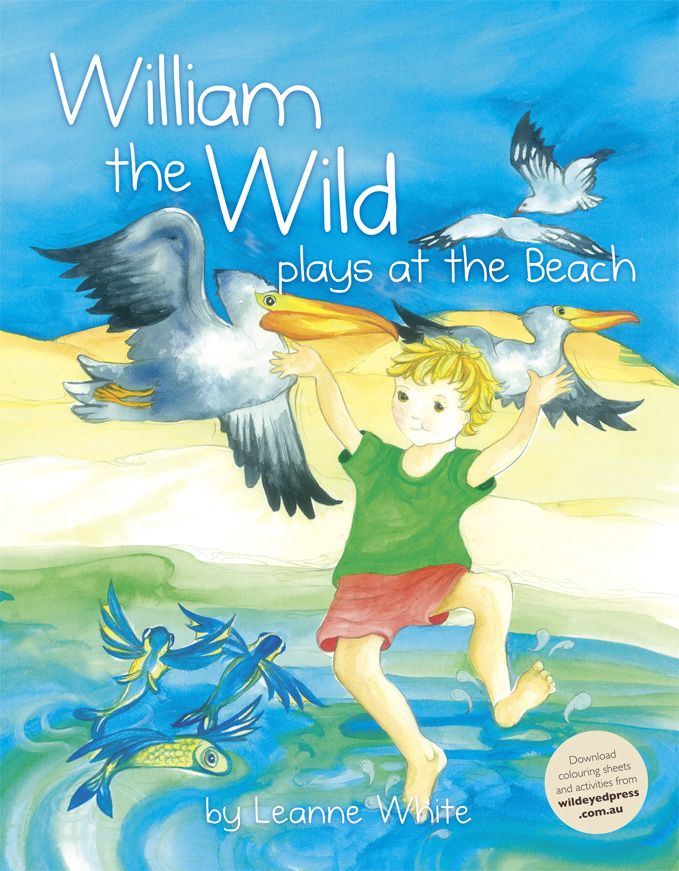 William the Wild plays at the Beach by Leanne White