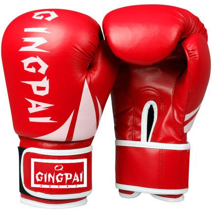 Kick Boxing mma Gloves PU Leather guantes de boxeo Muay Thai karate taekwondo Training Boxing Glove (Green/Yellow/orange/)