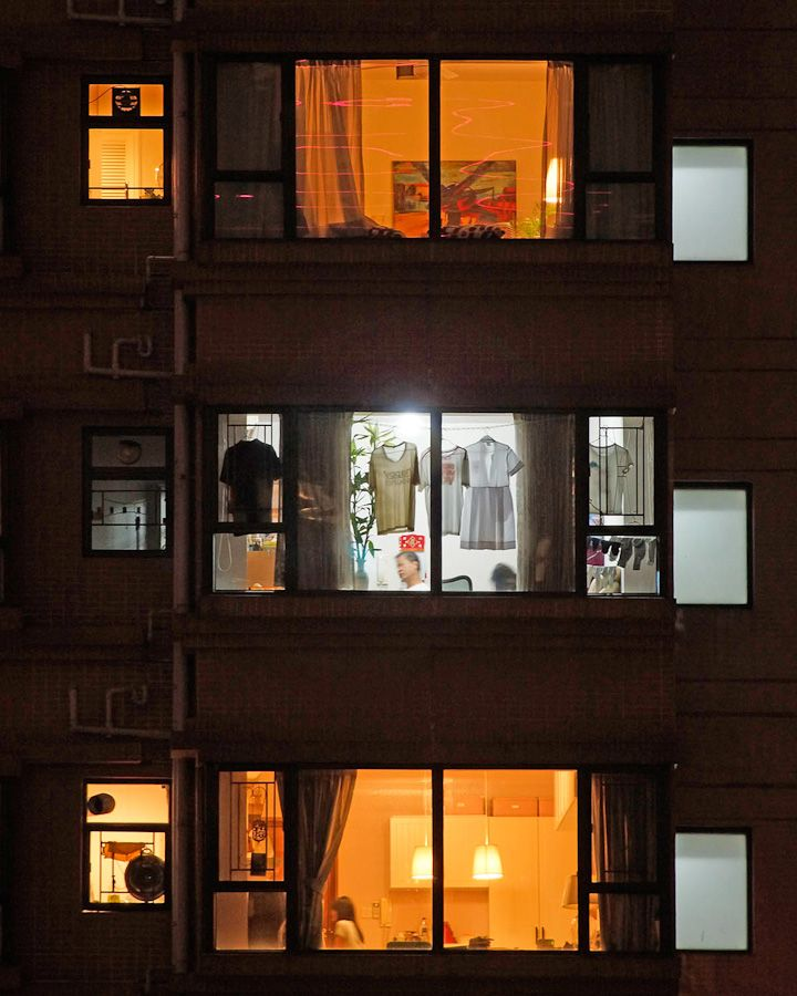 MICHAEL WOLF window watching