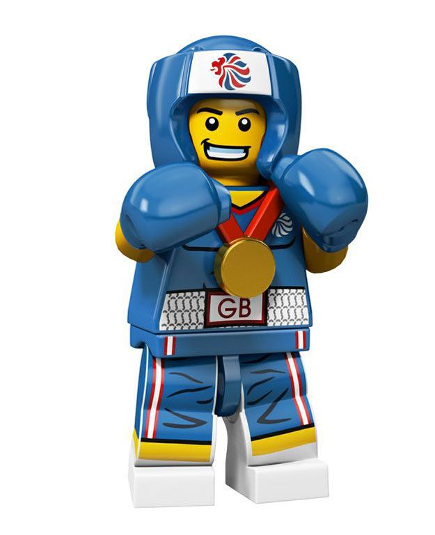 The one LEGO 2012 London Olympic Minifig I managed to get: The Boxer