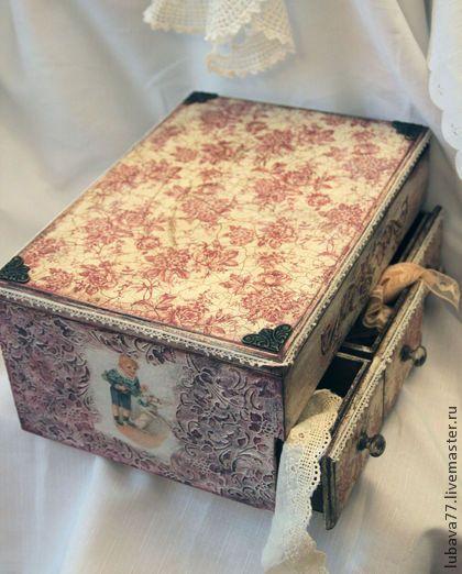 """Мебель ручной работы. Ярмарка Мастеров - ручная работа Большой комод:""""Розовая арабеска"""". Handmade."""