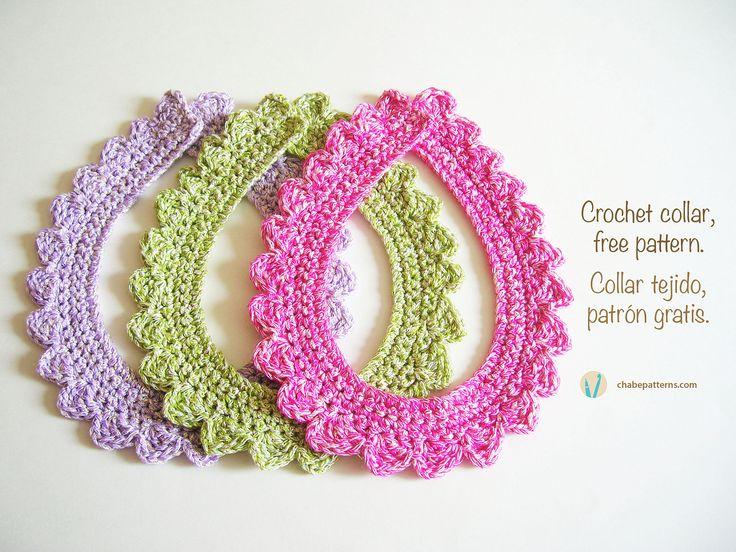 Crochet Collar By ChabeGS - Free Crochet Pattern - (chabepatterns)
