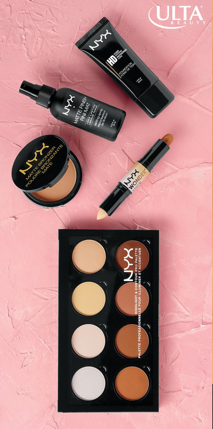 You want matte, not makeup-y, right? These NYX products from Ulta Beauty keep skin fresh, pretty & shine-free all day without looking heavy.