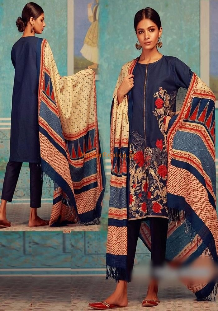 11eb07c8be Check Out KHAADI Latest Embroidered Khaddar Collection Replica at Master  Replica Pakistan Call/WhatsApp: +923322622227 #pakiclothing  #pakistanidesignerwear ...