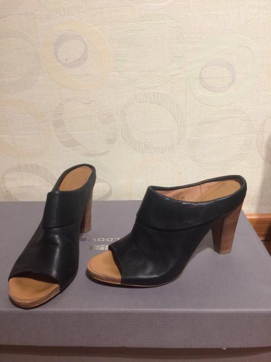 2fb338b473c2 Сабо кожаные 38 размер – купить в Санкт-Петербурге, цена 700 руб ...