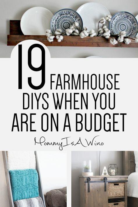 19 Easy DIY Farmhouse Decor Anyone Can Do