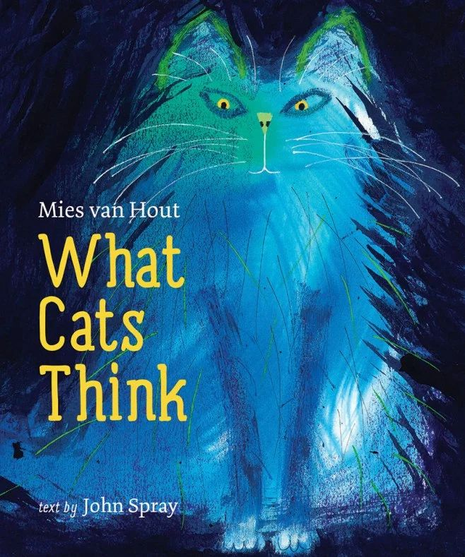What Cats Think by Mies van Hout and John Spray Fab Book