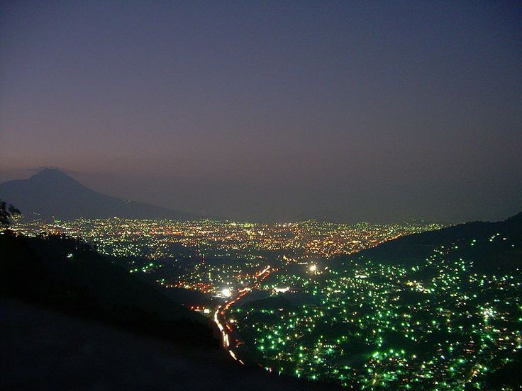San Salvador- second biggest city in Central America and the capital of El Salvador.