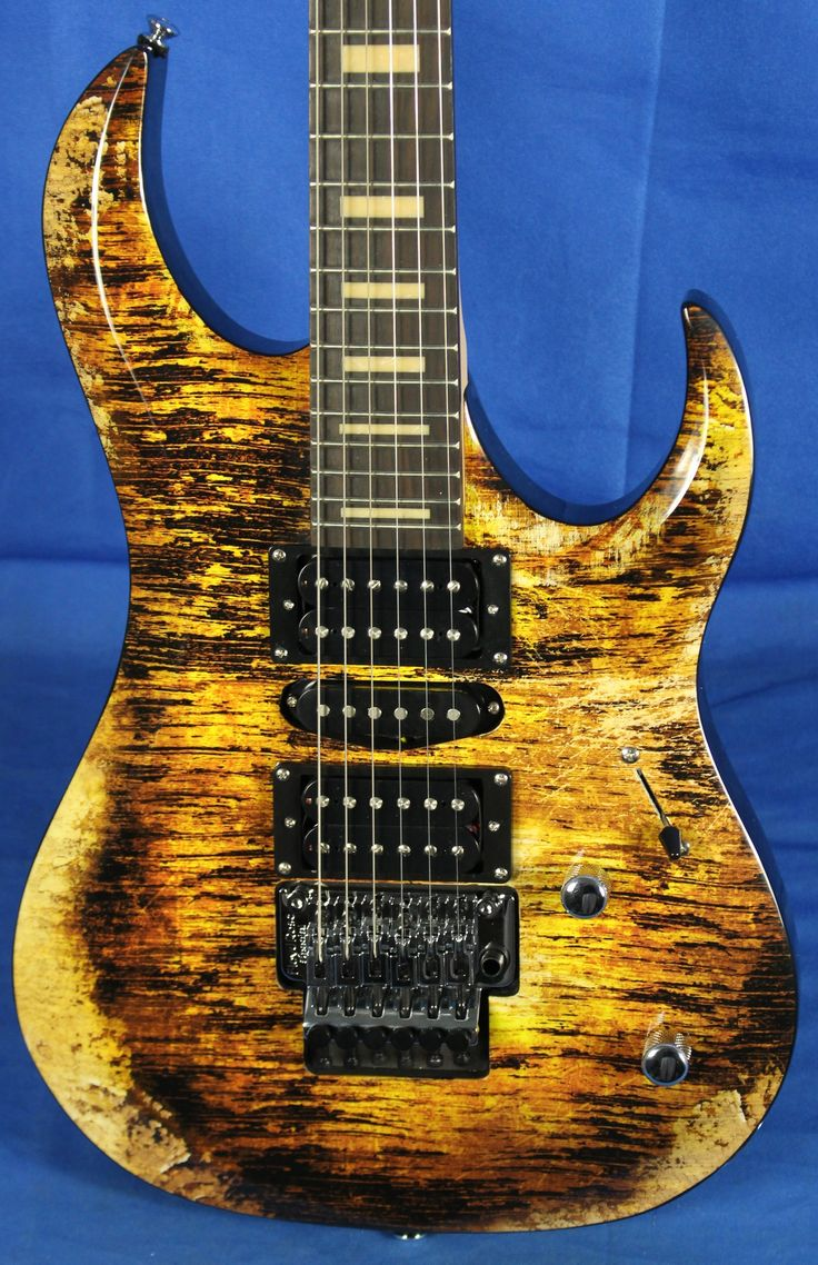 22 Best Gitaren Images On Pinterest Electric Guitars Instruments Stock Epiphone Wiring And 4 Wire Pickup Mylespaulcom Dean Michael Batio Mab Iv Rlc Gold Relic Guitar W Floyd Rose