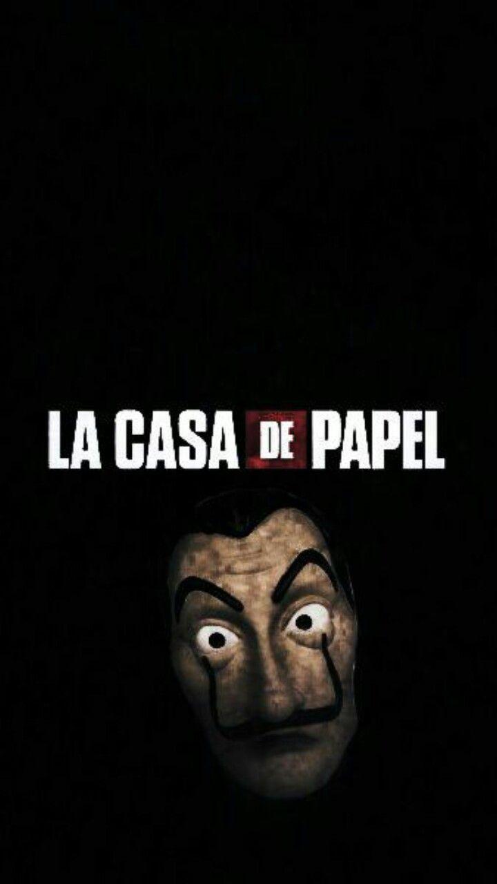 Wallpaper La Casa De Papel Dalí Lacasadepapel Máscara Serie Tv