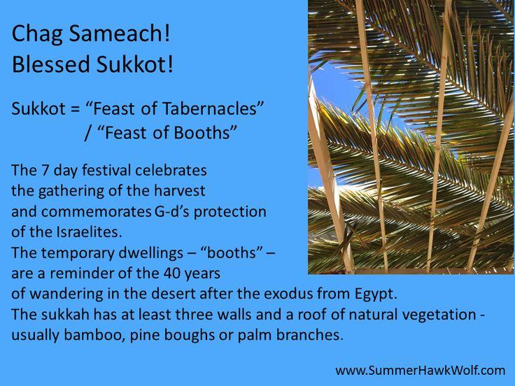 Chag Sameach!   Blessed Sukkot!  The season of our joy! 5778/ 2017
