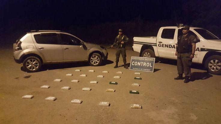 Gendarmería decomisó 26 kilos de cocaína en El Naranjo: Personal de Gendarmería Nacional decomisó 26,155 kilos de cocaína que intentaron…