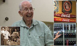 Fred Kirkpatrick has spent most of his life working for the drinks giant in Arkansas, aside from a few years he spent in the Army during the Second World War.