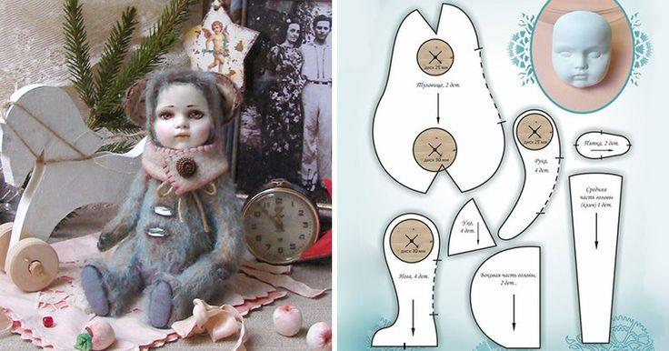 Мягкие игрушки ручной работы и куклы Тильда | ВКонтакте