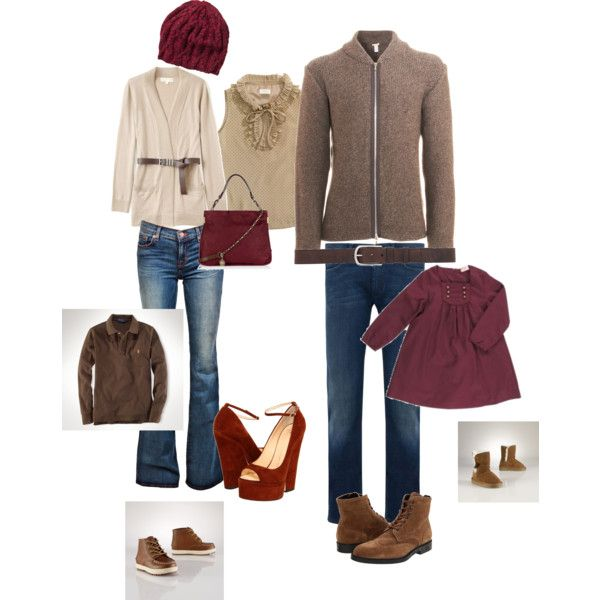 What to wear Guide - Family Fall neutrals